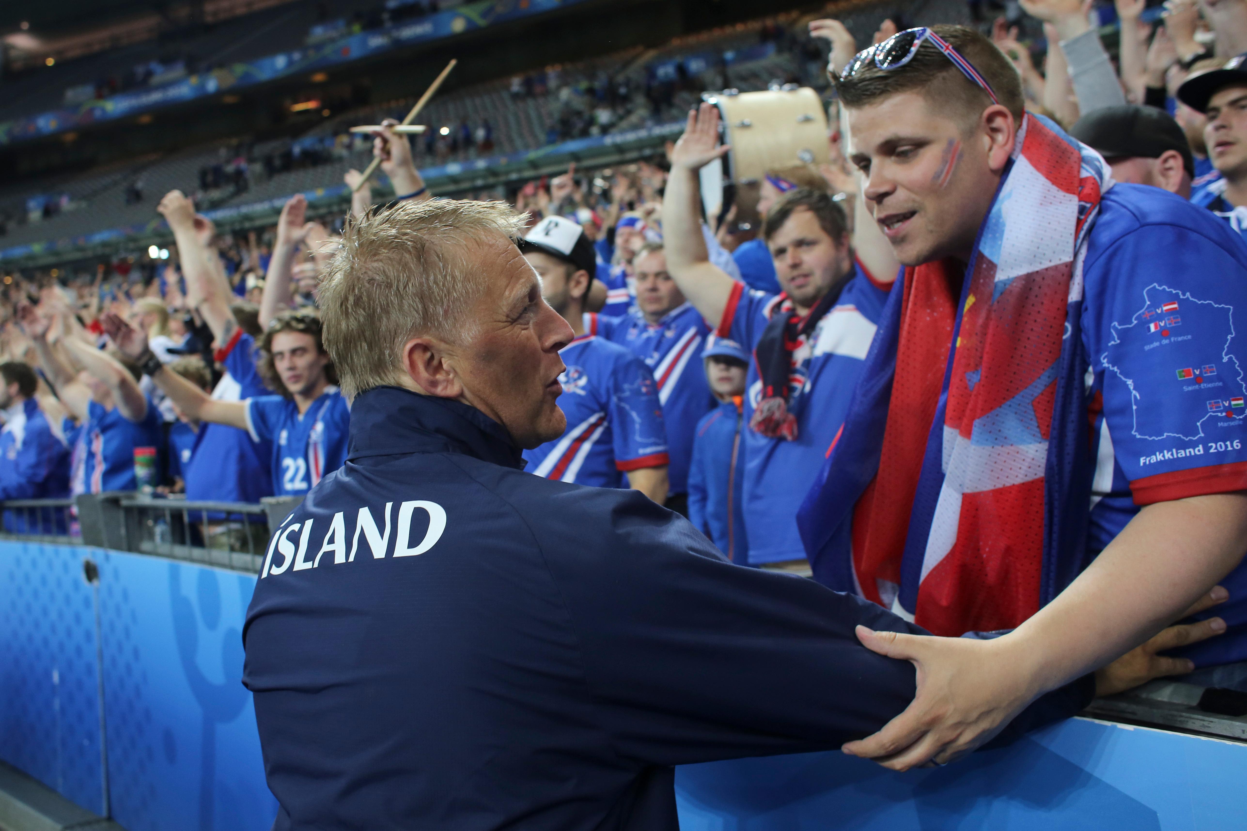 France v Iceland, UEFA European Championships, Quarter Final football match, Stade de France, France - 03 Jul 2016