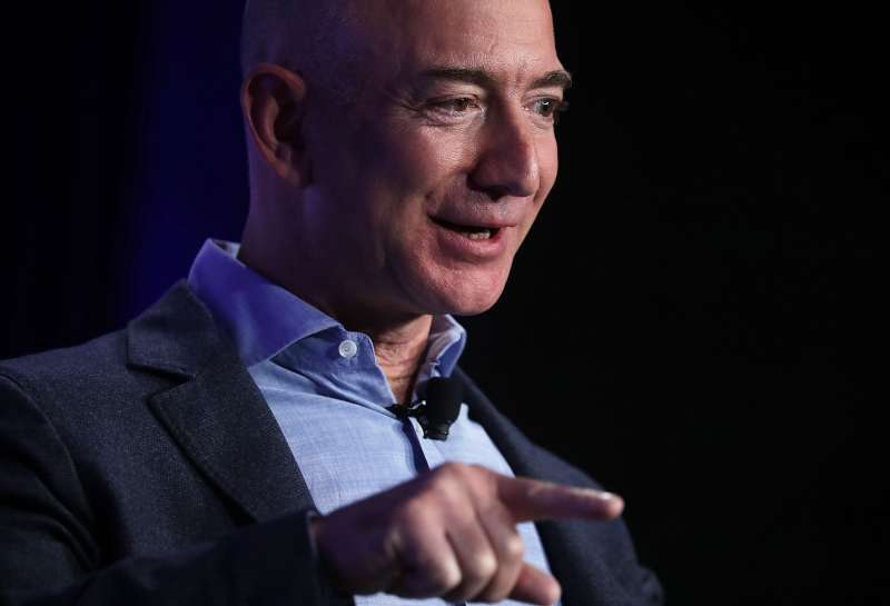 Jeff Bezos, founder and chief executive of Amazon.com.