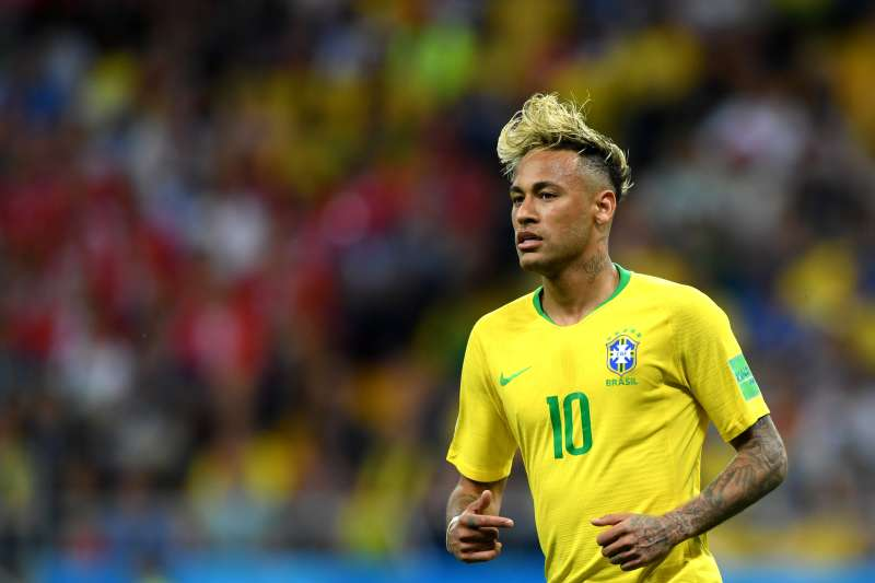 Neymar Jr of Brazil in action during the 2018 FIFA World Cup Russia group E match between Brazil and Switzerland at Rostov Arena on June 17, 2018 in Rostov-on-Don, Russia.