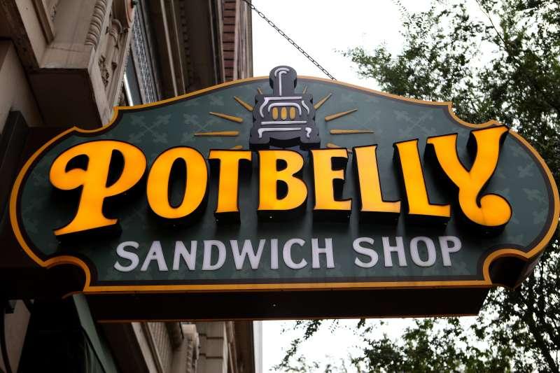 Potbelly Sandwich Shop in Louisville, Kentucky.