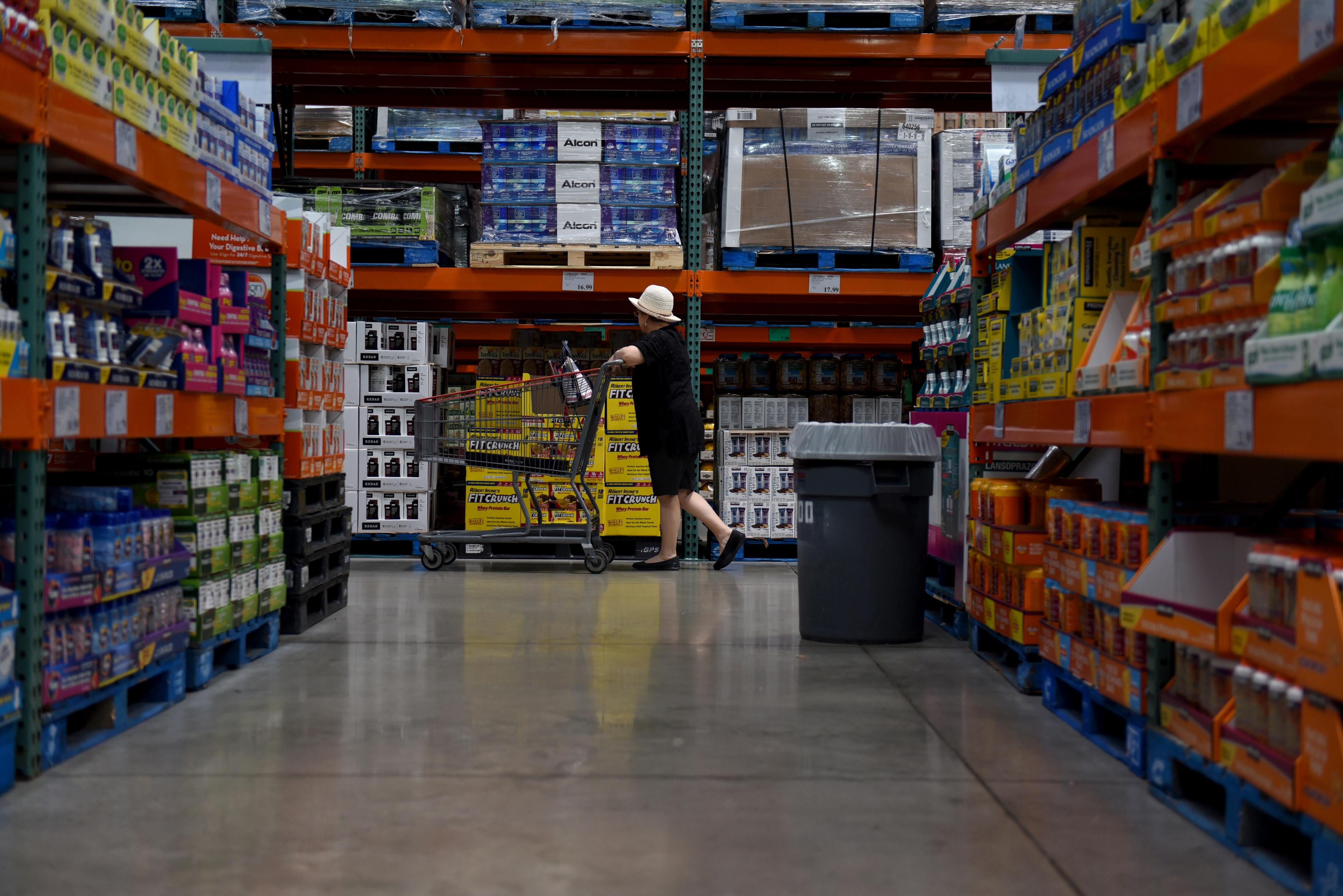 Inside A Costco Wholesale Corp. Location As Earnings Figures Are Released
