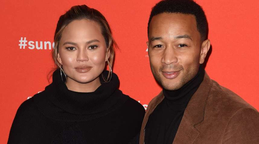 Chrissy Teigen (L) and John Legend attend the 'Monster' Premiere during the 2018 Sundance Film Festival at Eccles Center Theatre on January 22, 2018 in Park City, Utah.