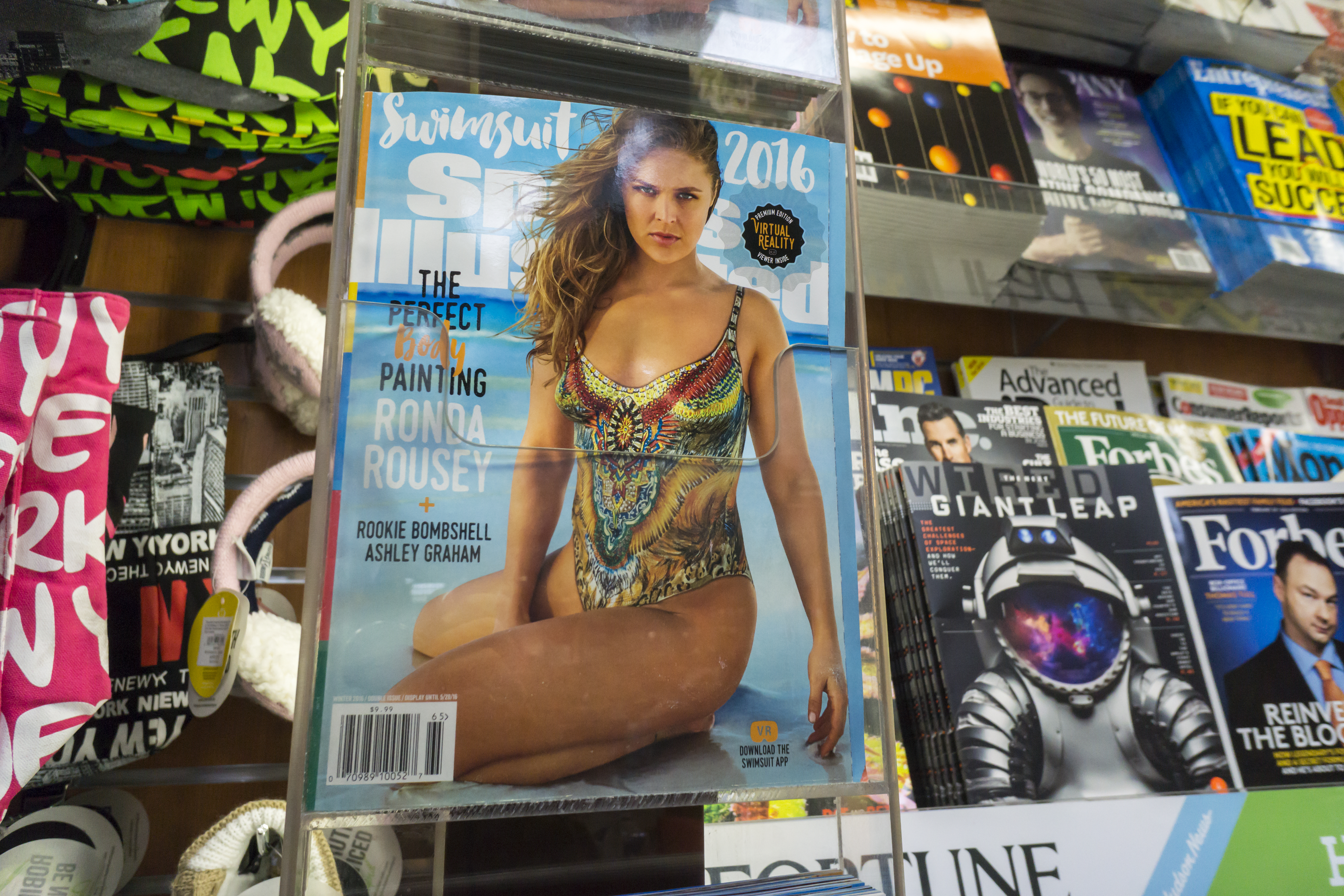 Sports Illustrated swimsuit issue debuts