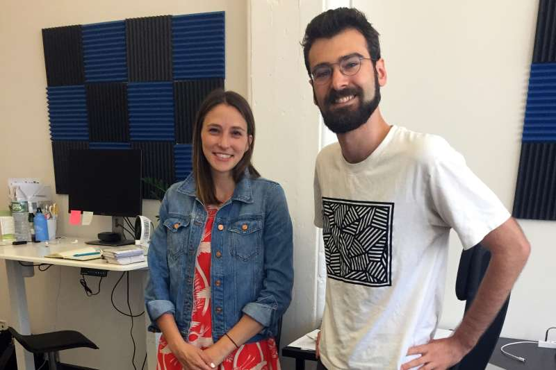Umbrella co-founders Lindsay Ullman and Sam Gerstenzang