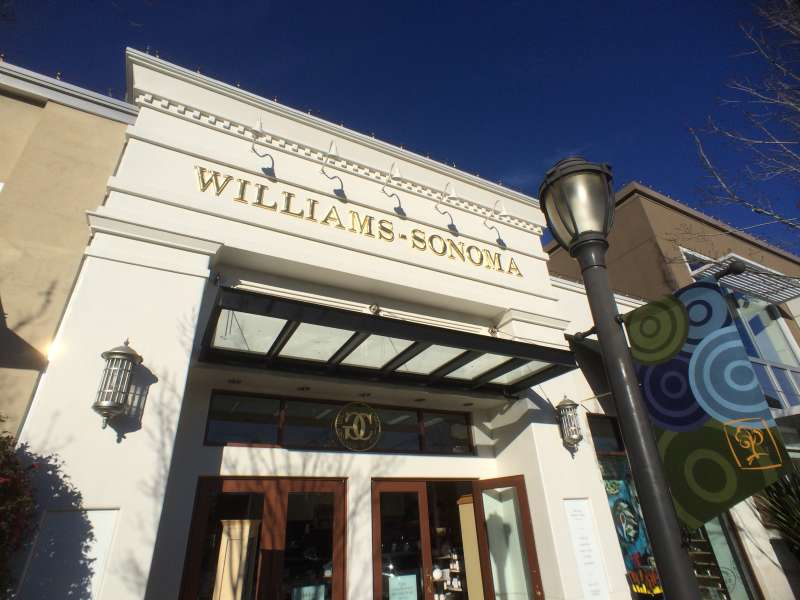 Collect a paycheck without every having to step foot in a Williams-Sonoma store