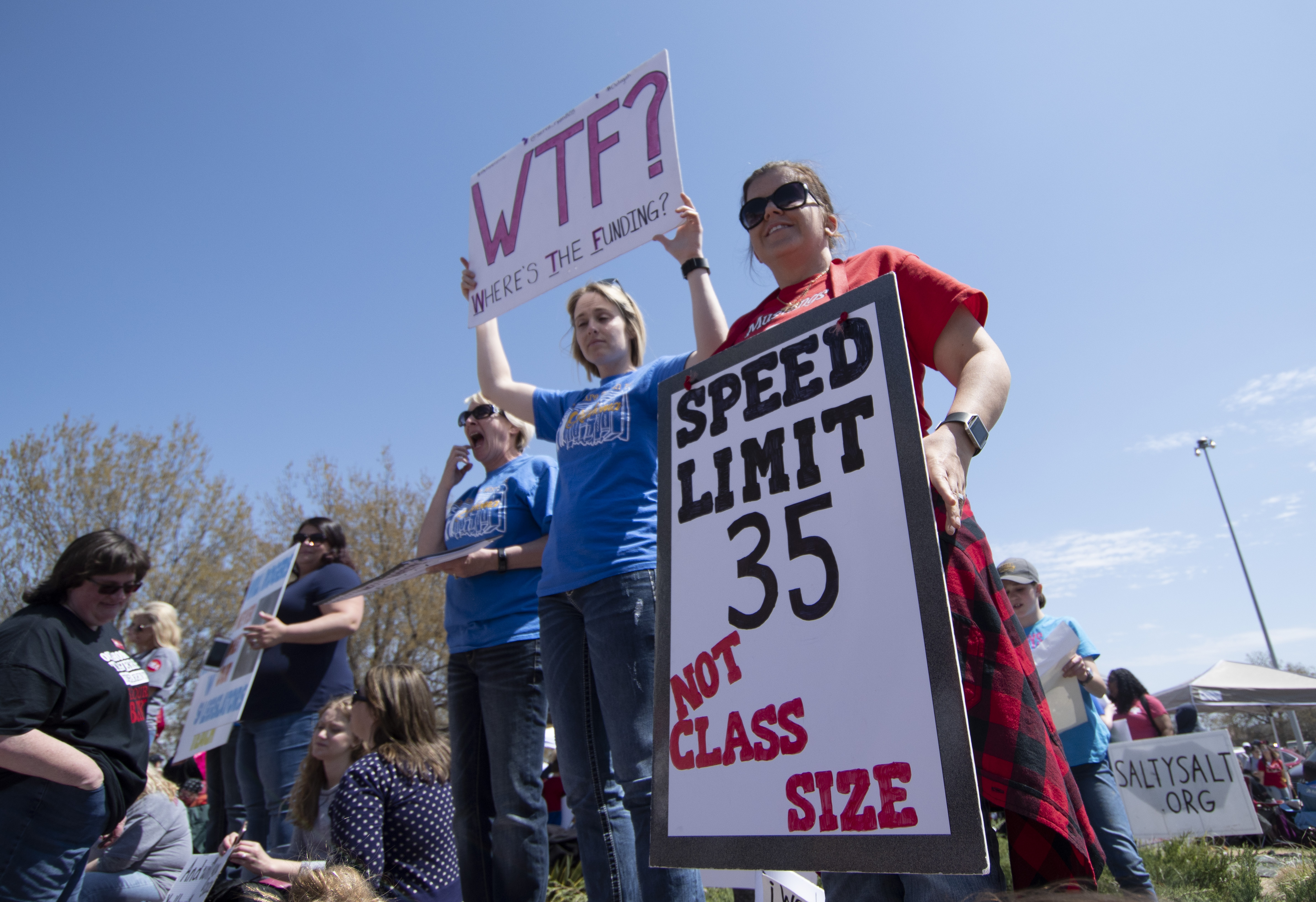 Oklahoma Teachers Continue To Strike