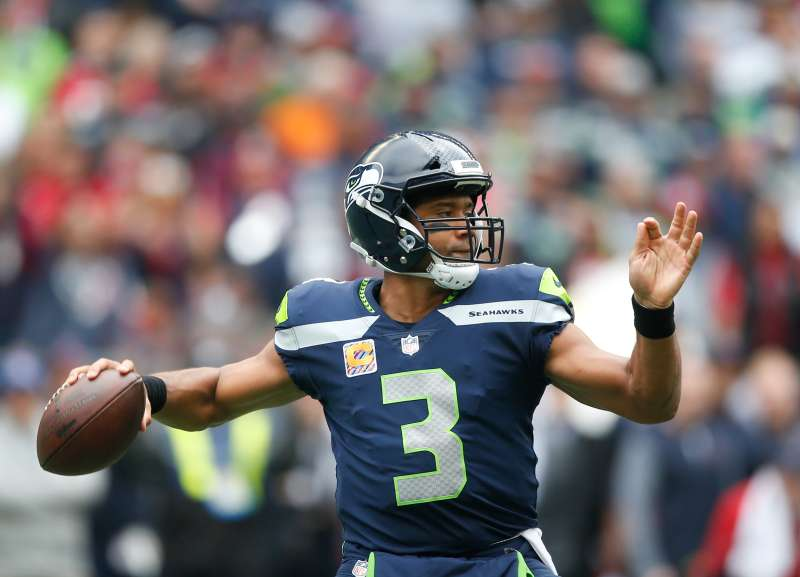 Quarterback Russell Wilson will lead the Seattle Seahawks in   Monday Night Football  game against the Chicago Bears.