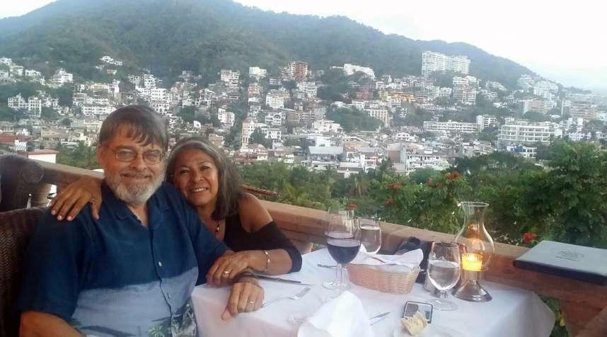 Brad and Yvonne Johnson in Puerto Vallarta