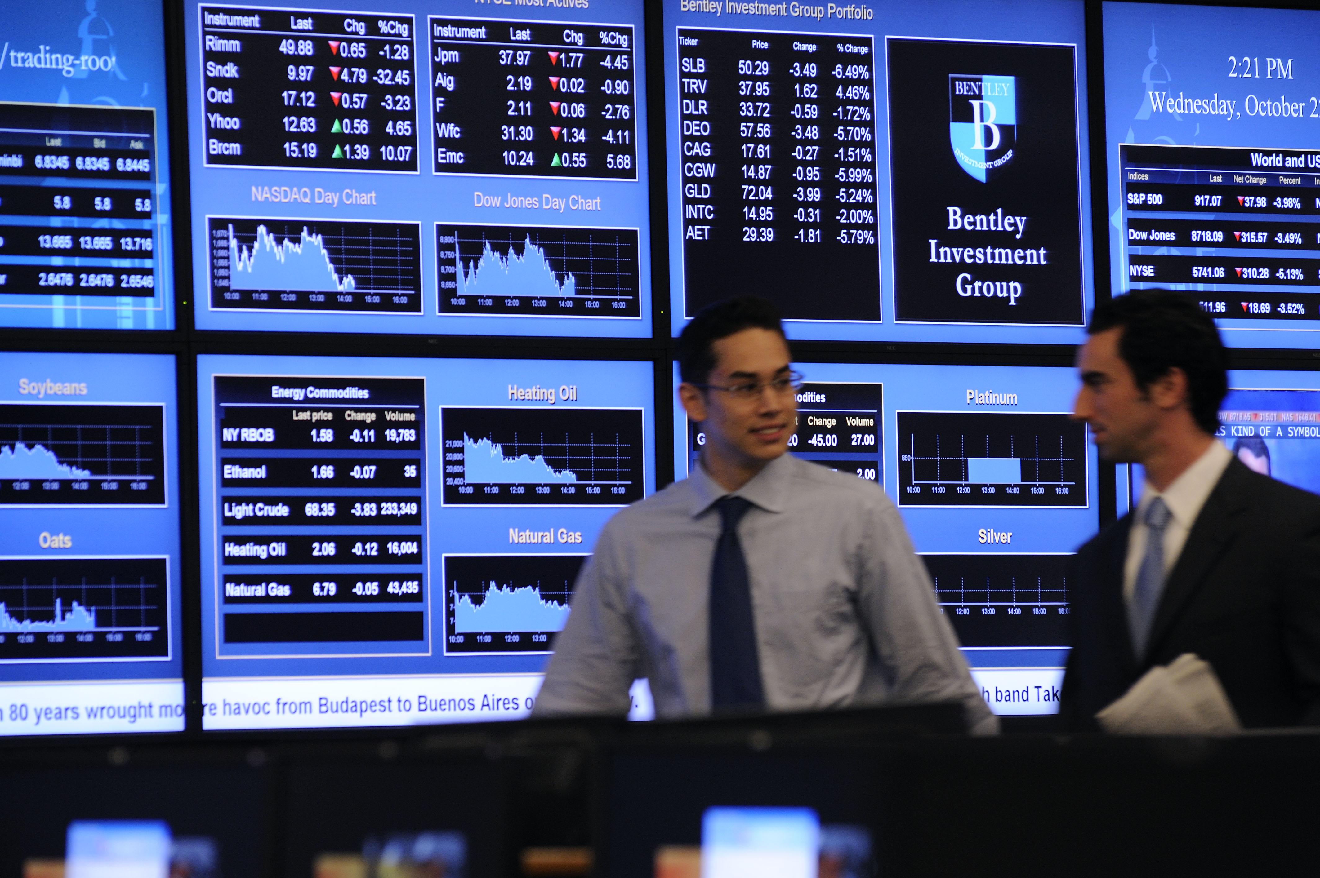 Bentley Trading Room, Bentley University