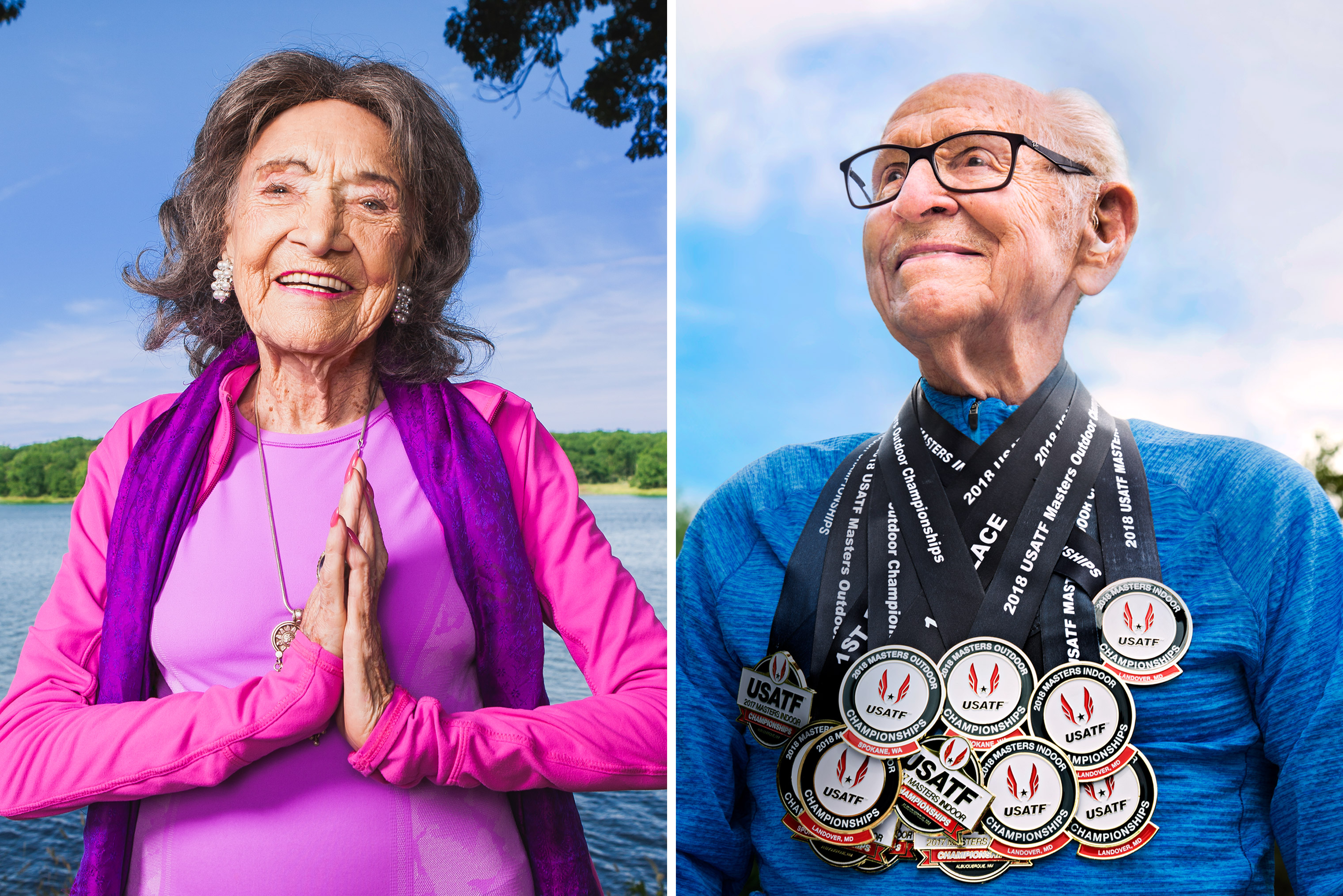 100 Year Old Retirees On Longevity And Long Term Healthcare Time