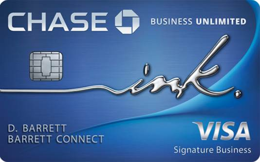 Chase Business Unlimited Ink