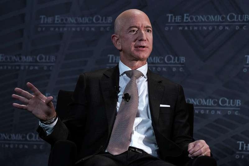 CEO and founder of Amazon Jeff Bezos