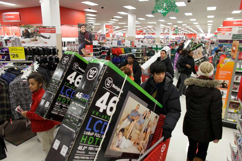 You can expect big crowds and low prices at Target on Black Friday. But the retailer has massive sales starting weeks earlier.