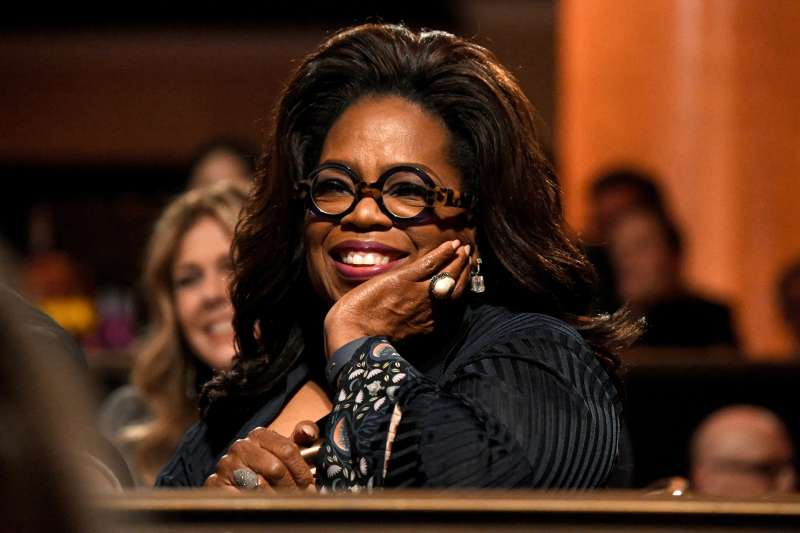 Oprah Winfrey attends the Ambassadors For Humanity Gala Benefiting USC Shoah Foundation on November 5, 2018 in Beverly Hills, California.