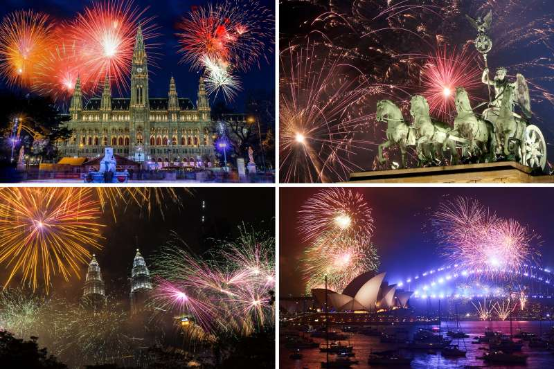 New Years Eve How To Stream Fireworks From Around The World Money