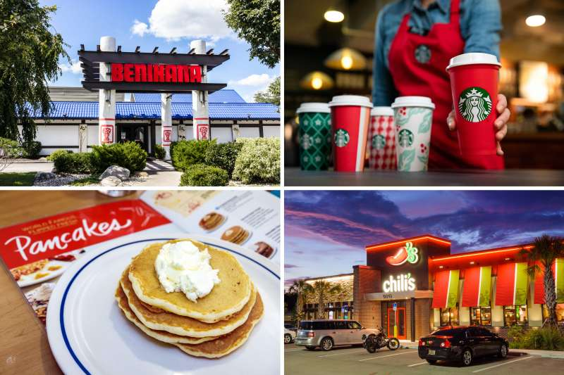 Ihop In Lake City Florida Is It Open For Christmas 2020 Restaurants Open Christmas Day 2018: IHOP, Starbucks Hours | Money