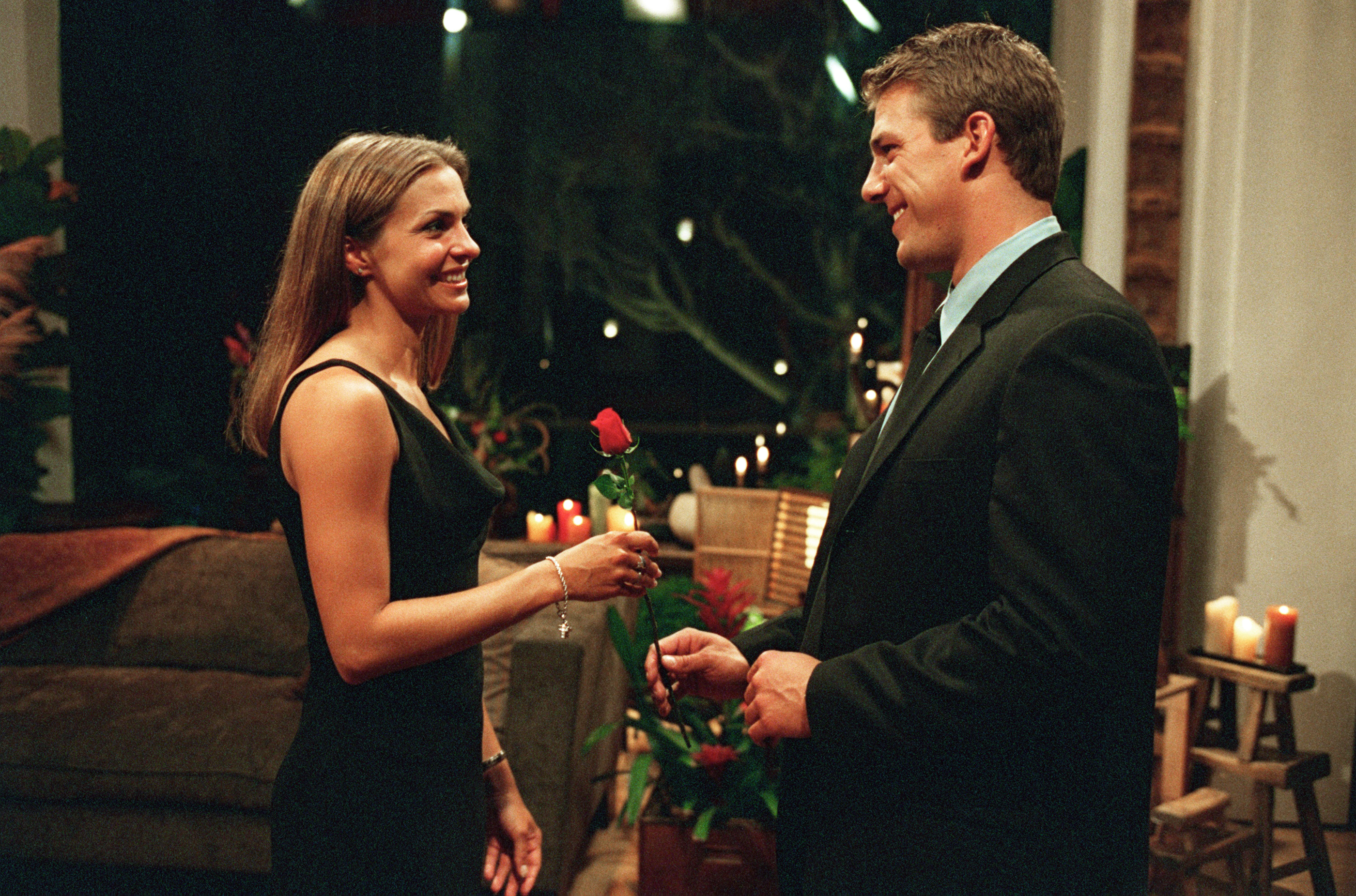 """THE BACHELOR -- """"Episode No. 206"""" - Relationships are intensifying, as Aaron and Brooke take a dreamy trip to the island of Kauai, then Aaron and Gwen tour romantic San Francisco, and, finally, Aaron and Helene enjoy a cozy time in Aspen, on """"The Bachelor,"""" WEDNESDAY, NOVEMBER 6 (9:00-10:00 p.m., ET), on the ABC Television Network. (Photo by Craig Sjodin/ABC via Getty Images)"""
