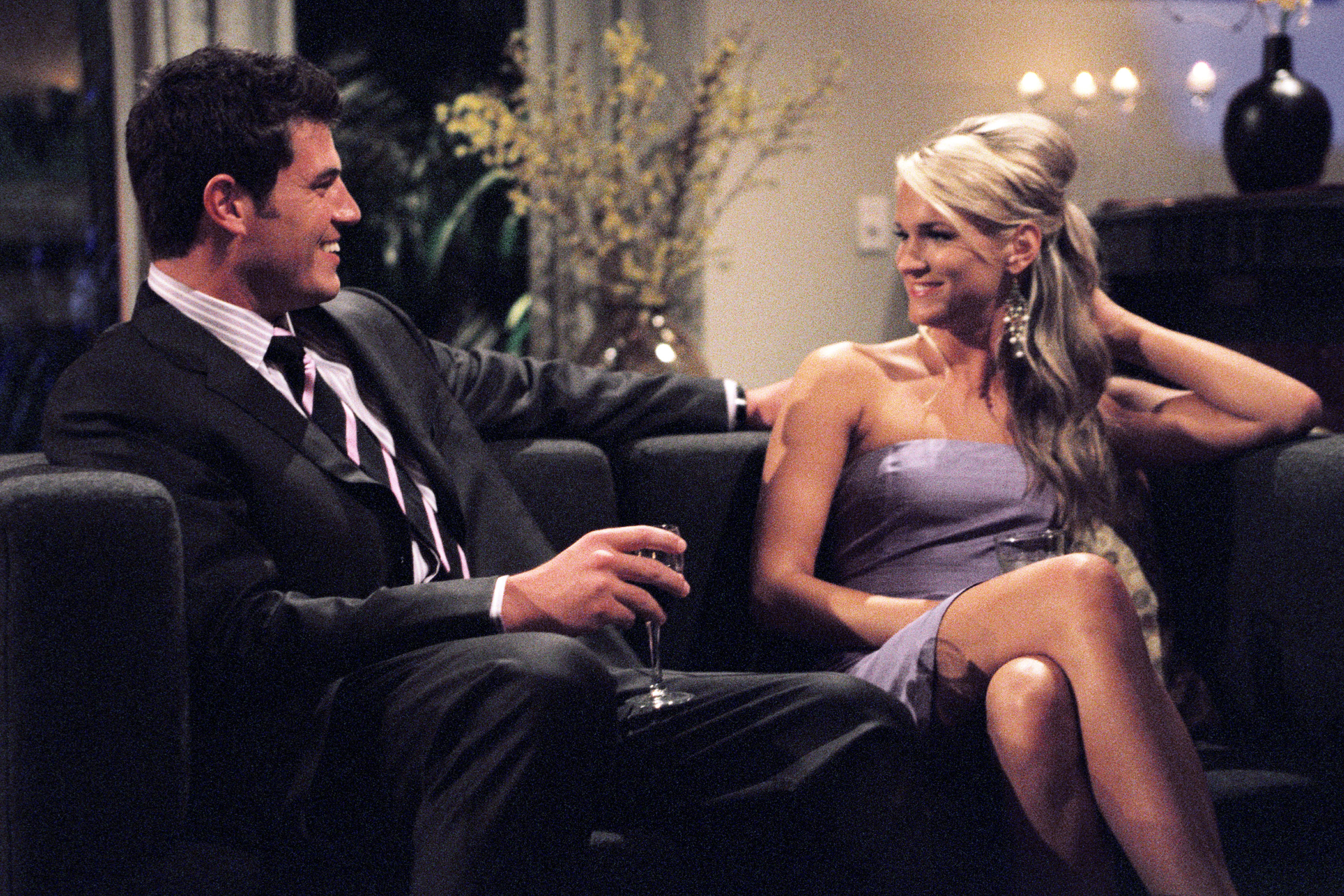 """THE BACHELOR - """"Episode 504"""" - The women are shocked when they learn the identity of Jesse's spy! As Jenny S. returns to the house to choose three women for special one-on-one dates with Jesse, she fears the worst. How will the women react? Can they forgive her betrayal or will they turn on Jesse? How will Jesse explain? Will Trish recover from the revealing game of """"I Never""""? Will her past be revealed to Jesse? After Jenny S. decides on her favorites, Jesse goes on three individual dates, including a date to the Rose Bowl, a romantic date on a yacht in Newport Beach, CA, and a special date that involves doing all of the woman's favorite things. He also goes on a three-person """"Bollywood""""-themed group date, complete with elephant rides. At the end of the episode, Jesse must present only four roses to the six remaining women, on """"The Bachelor,"""" WEDNESDAY, APRIL 28 (9:00-10:00 p.m., ET), on the ABC Television Network."""