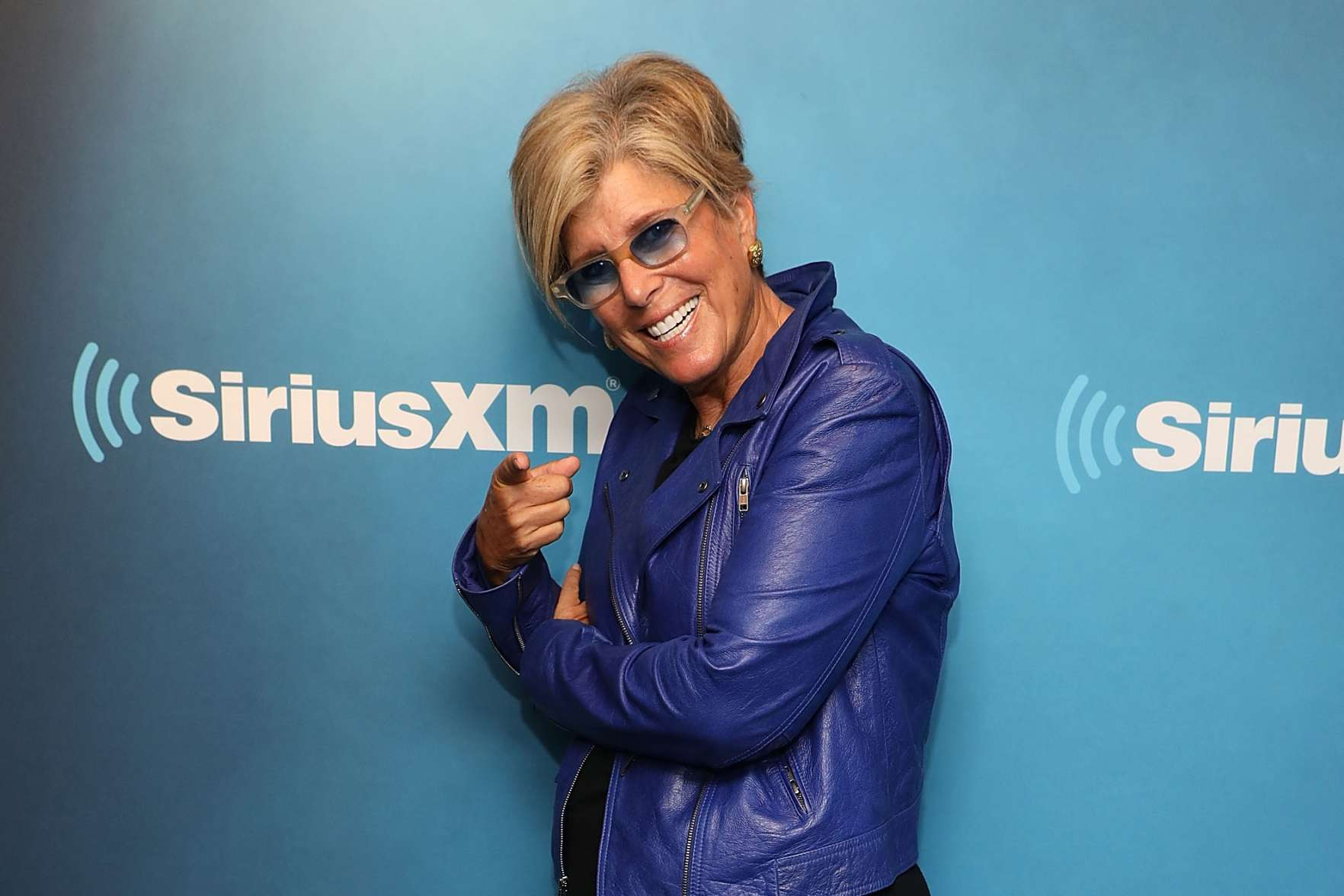 Suze Orman visits the SiriusXM Studios on October 8, 2018 in New York City.