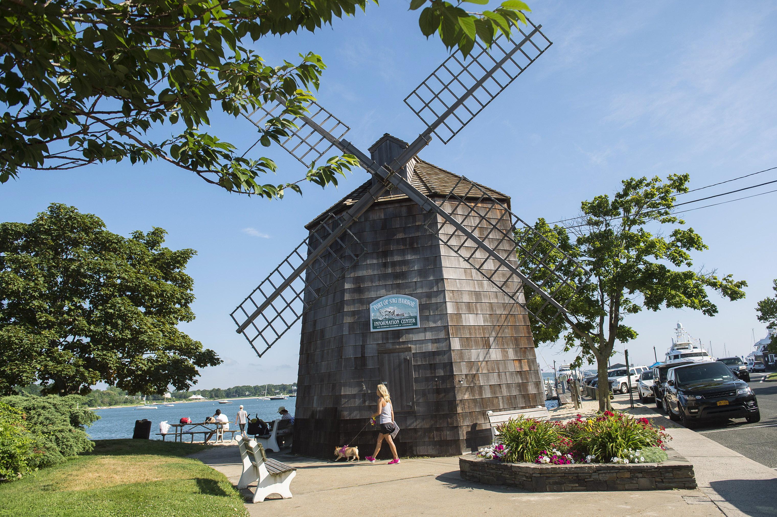 Village history is everywhere, from mom-and-pop shops to the windmill near Main Street.