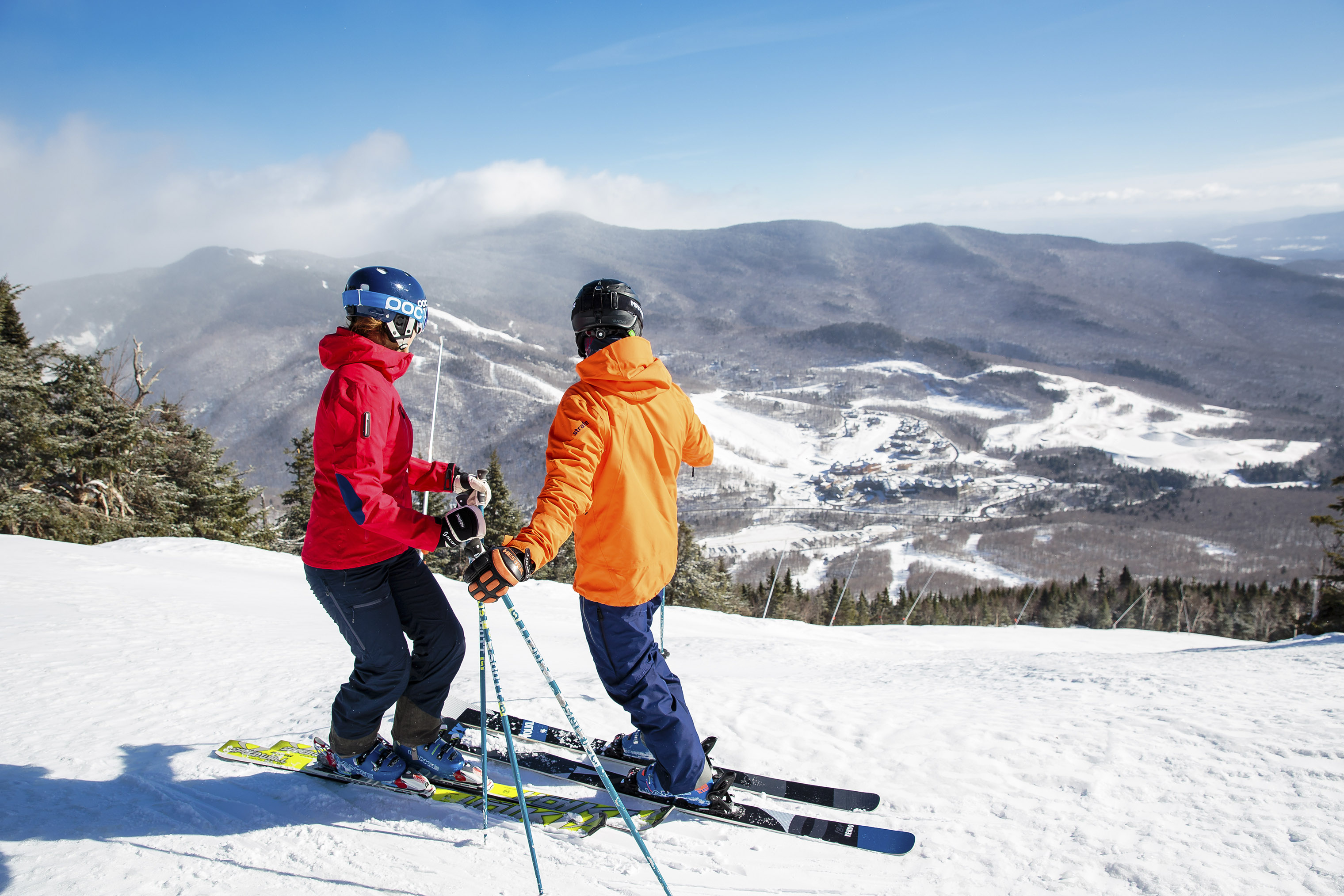 Stowe Mountain Resort remains open during all four seasons.