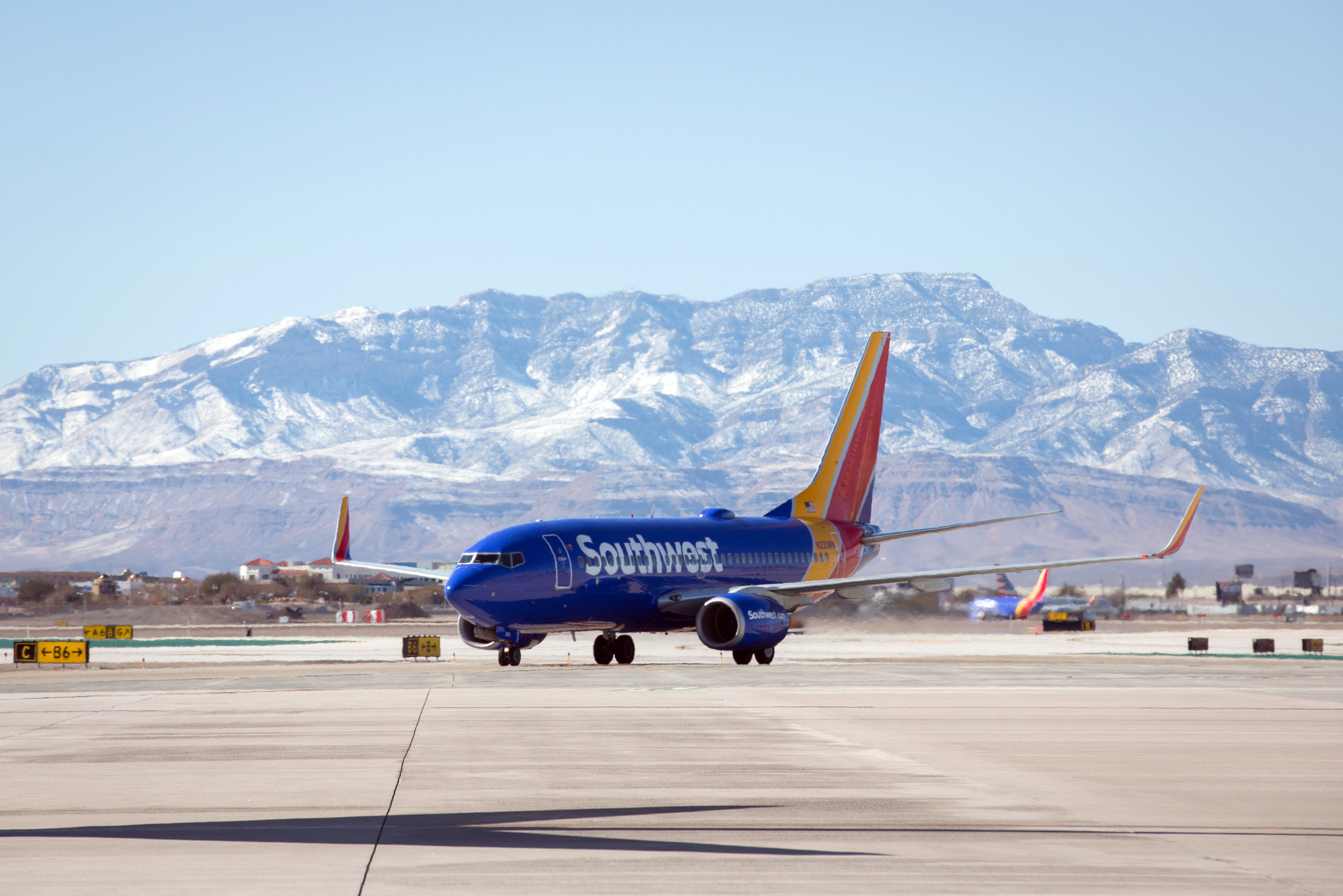 Southwest Airlines operations in Las Vegas.// Stephen M. Keller, 2019