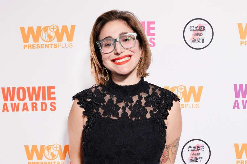Gaby Dunn attends the WOW Store Opening and the 14th annual WOWie Awards presented by World of Wonder Productions at The WOW Presents Space on December 6, 2018 in Hollywood, California.