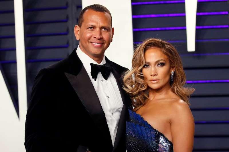91st Academy Awards ñ Vanity Fair ñ Beverly Hills, California, U.S., February 24, 2019 ñ Alex Rodriguez and Jennifer Lopez.