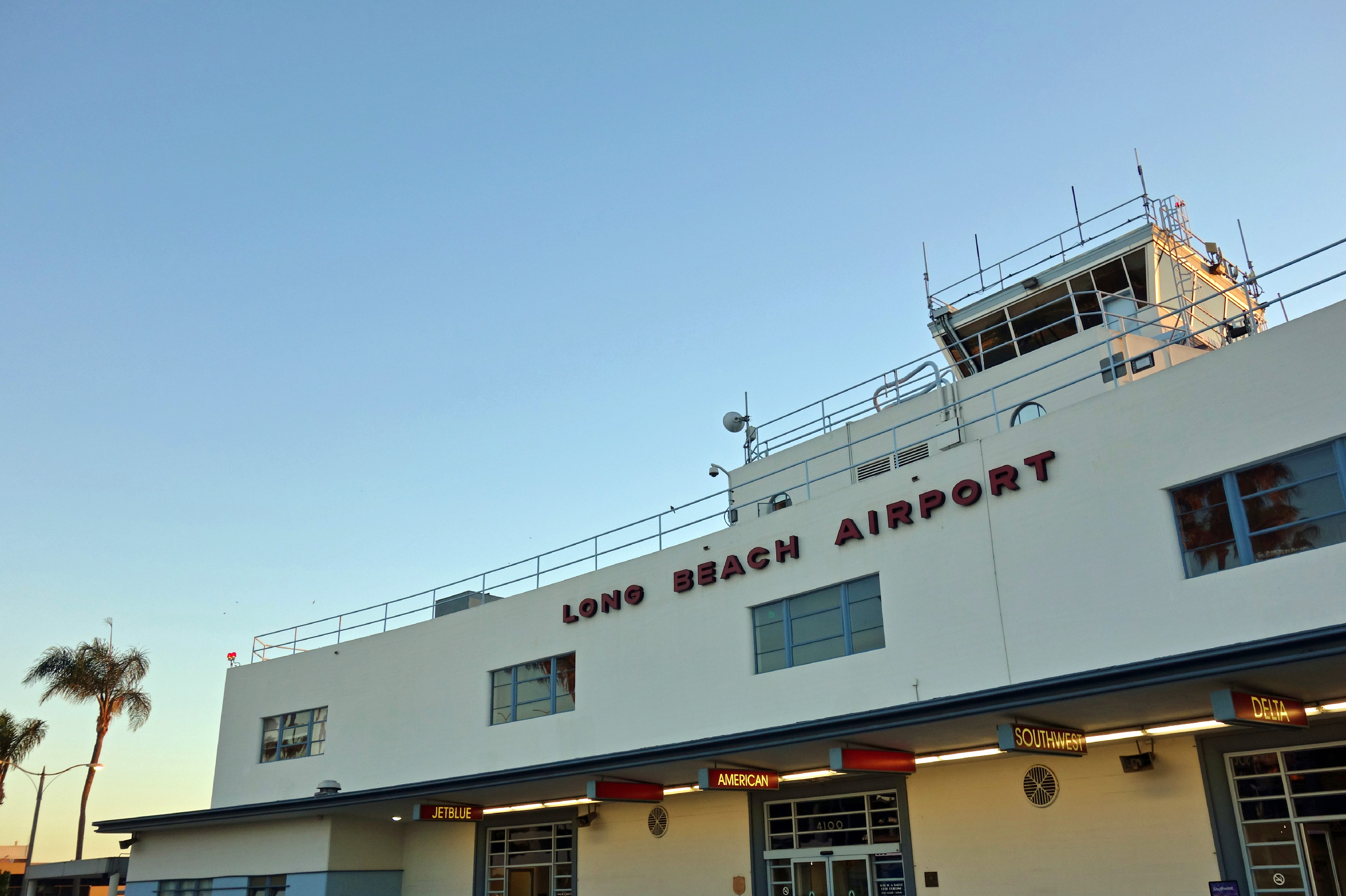 Long Beach Airport (LGB), formerly Daugherty Field.