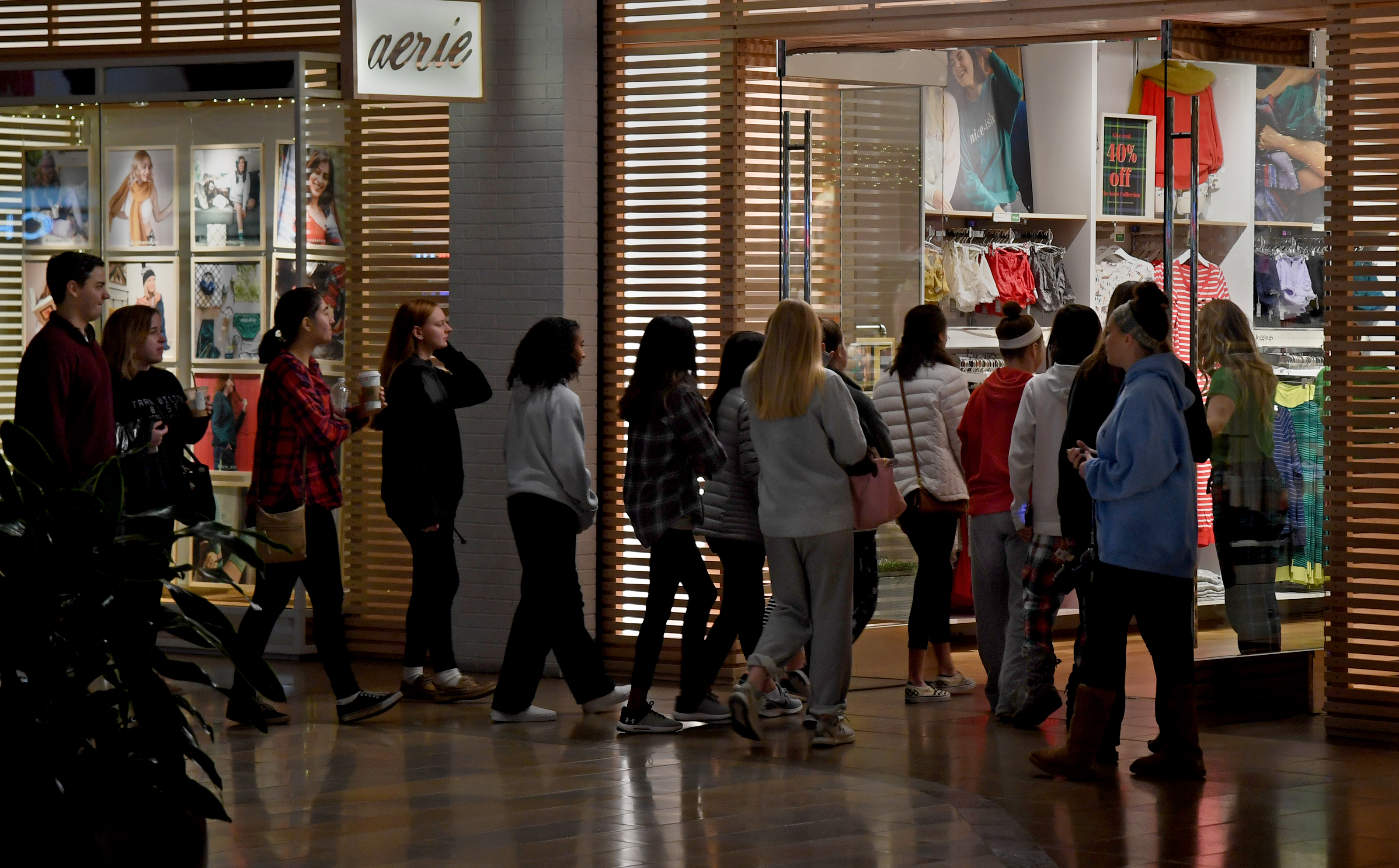 Columbia Mall Was Busy But Not Black Friday Intense