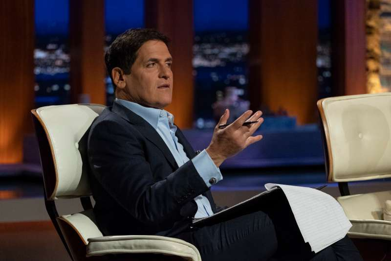 SHARK TANK -  1012  - There's more holiday cheer than ever when an entrepreneurial elf from Southlake, Texas, presents his large database of Santa entertainers to help people hire Santa Claus during the holidays; entrepreneurs from Lafayette, Louisiana, solve the hassle of carrying skis on the slopes; entrepreneurs from Minneapolis, Minnesota, introduce their new twist on gift-giving designed to bring laughter to every occasion; last into the Tank is an entrepreneur from New York City who puts a modern twist on an old-fashioned favorite with her build-your-own oatmeal bar on  Shark Tank,  SUNDAY, DEC. 2 (9:00-10:00 p.m. EST), on The ABC Television Network. (Tony Rivetti via Getty Images)             MARK CUBAN