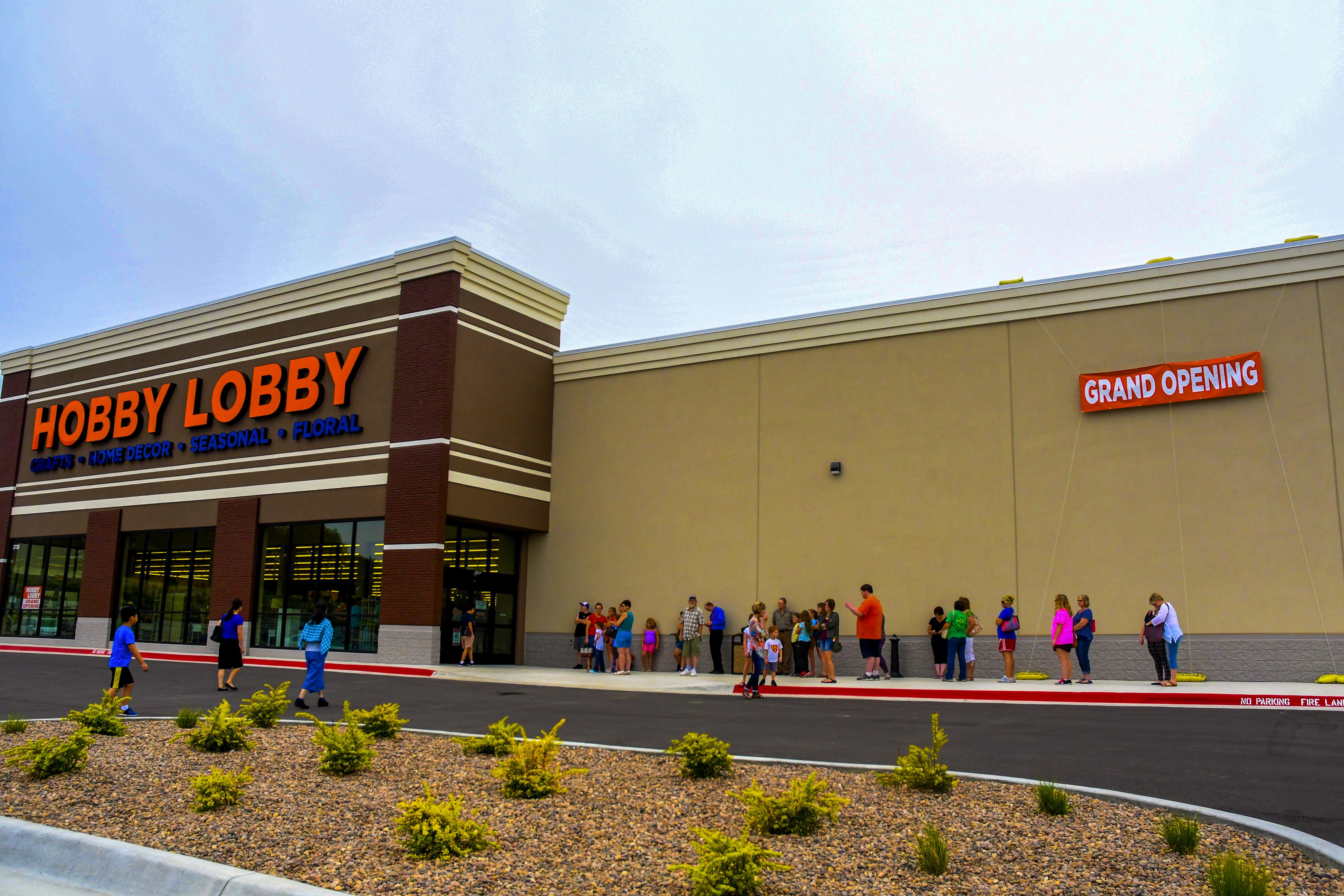 Hobby Lobby Store Opening