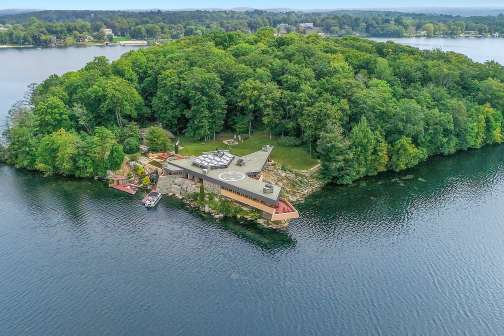 This Private Island Is Up for Sale — and It Comes With Two Frank Lloyd Wright Designed Homes