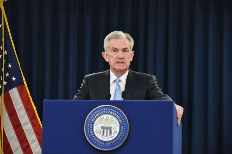 Chairman of the U.S. Federal Reserve Jerome Powell speaks during a news conference on March 20, 2019 in Washington, DC. Jerome Powell said the Fed will not raise interest rates this quarter as was previously expected.