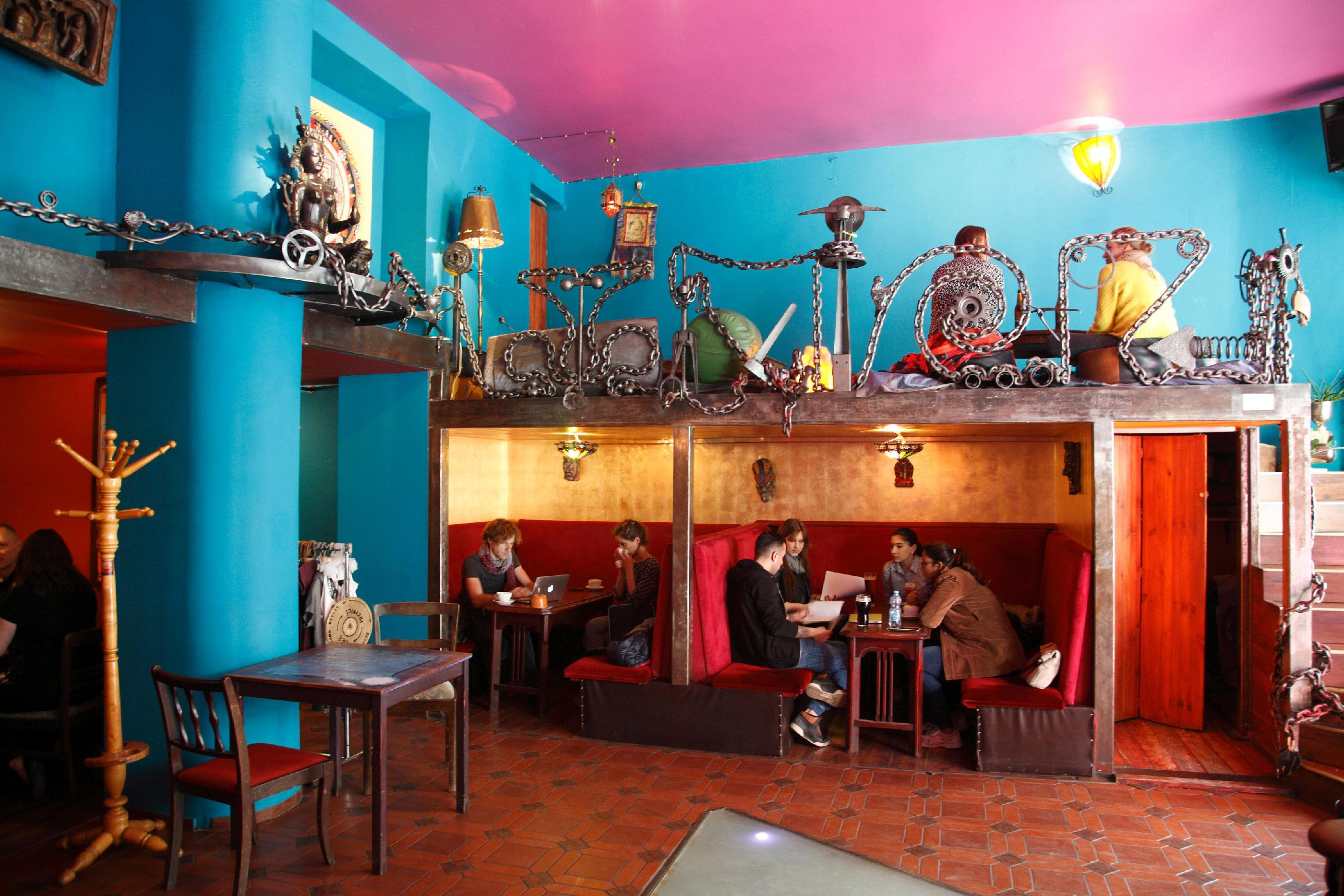 Art Cafe Kalambur, Wroclaw, Silesia, Poland, Europe