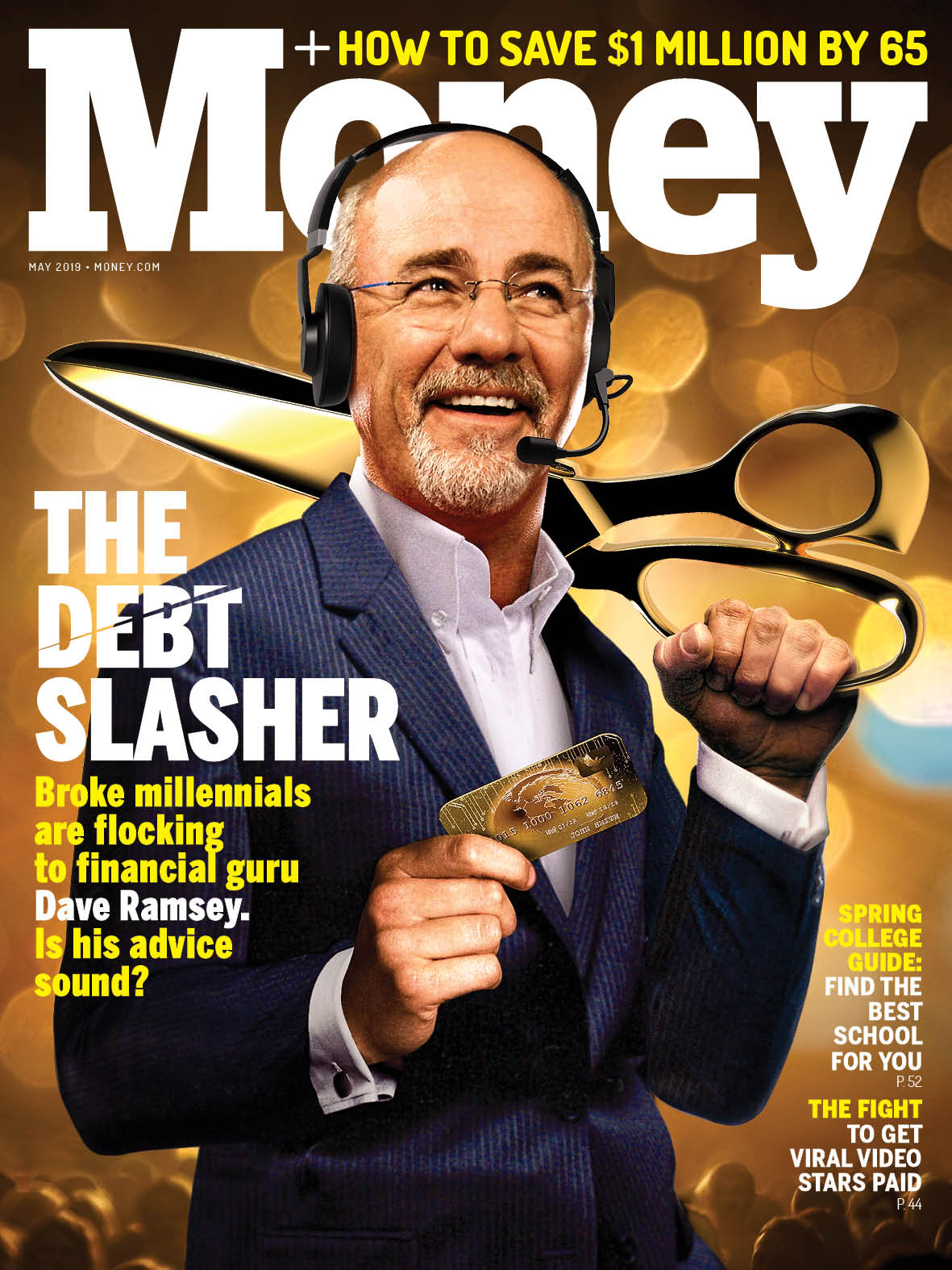 In rant we trust: Dave Ramsey's network encom- passes radio, TV, live events, and millions across multiple social media channels.