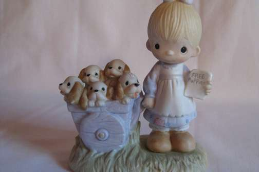 Your Old Precious Moments Figurines Could Be Worth Thousands Now
