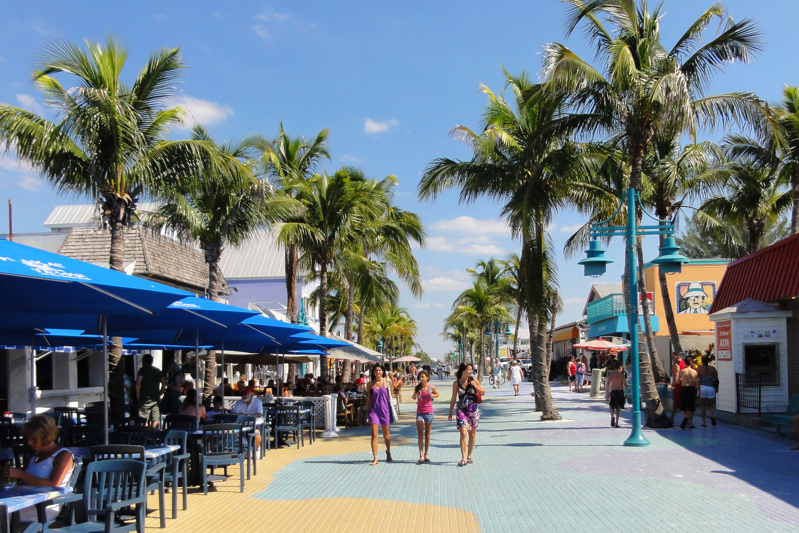 Times Square, Fort Myers Beach, Florida