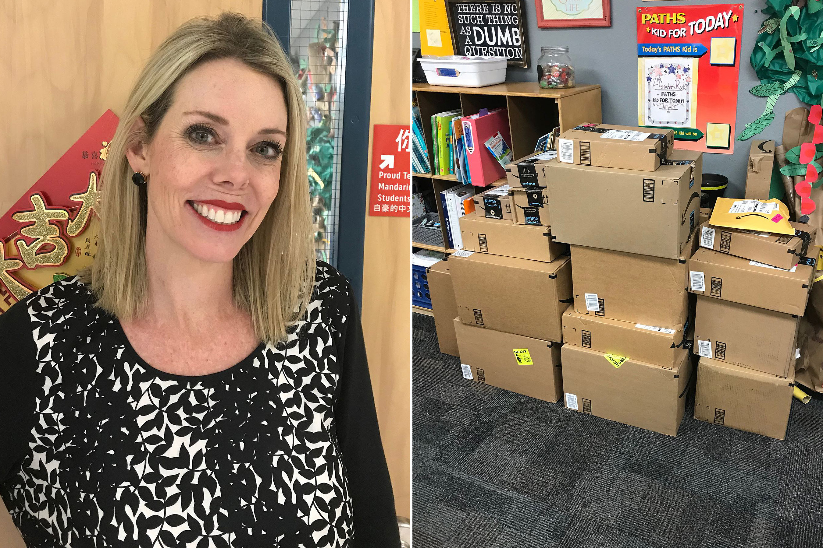After This Teacher Shared Her Salary on Facebook, a Stranger Launched a Movement to Buy Her School Supplies