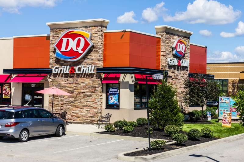 Dairy Queen in Indianapolis, Indiana.