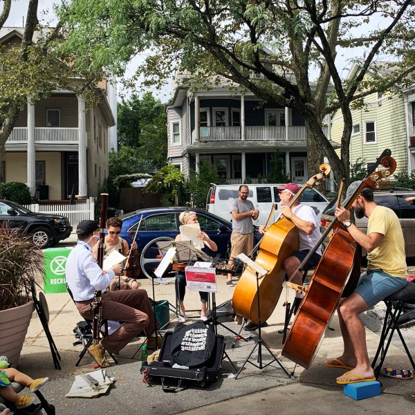 musicians performing in Ditmas Park New York