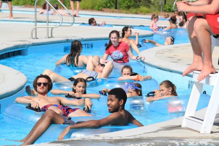 Swimming pool in O'Fallon, Missouri
