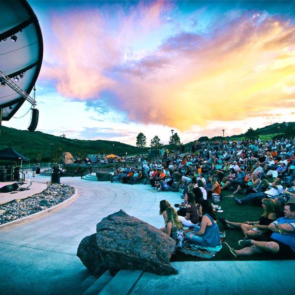 Ampitheater in Castle Rock, Colorado