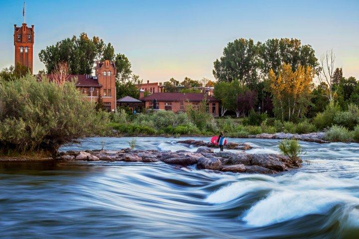 creek outside of Missoula, Montana