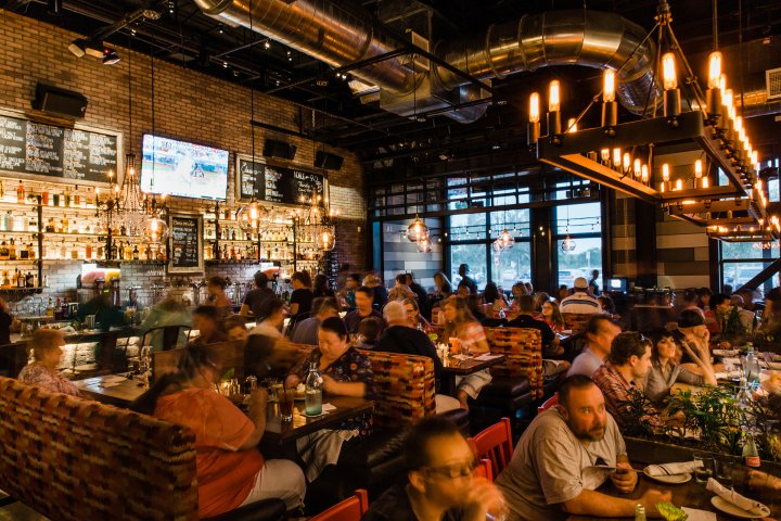 inside new american bistro style restaurant in Wesley Chapel, Florida