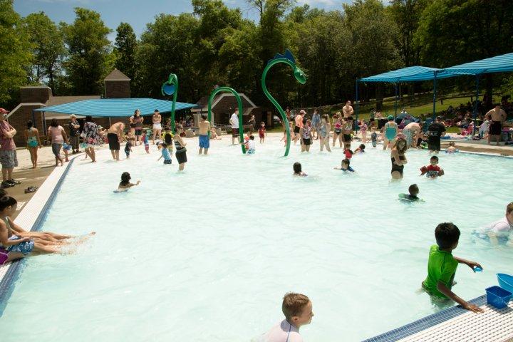 Swimming pool in Clarkstown, New York