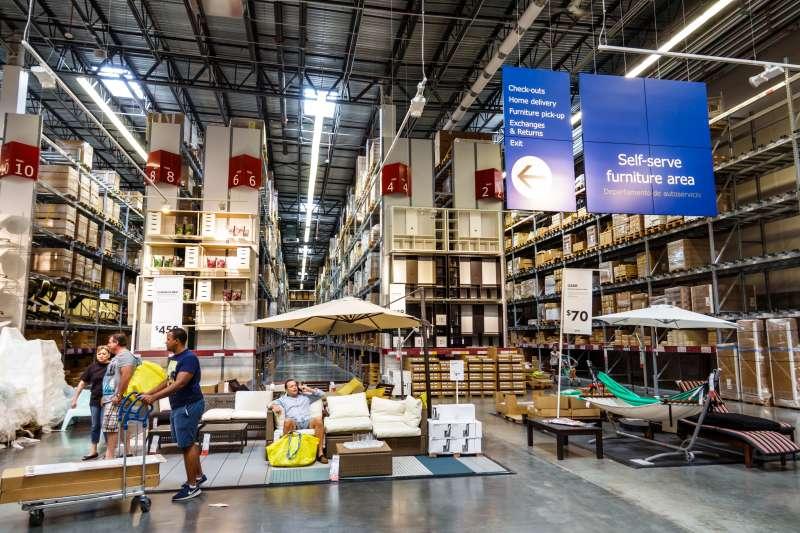 An IKEA store in Miami, Florida.