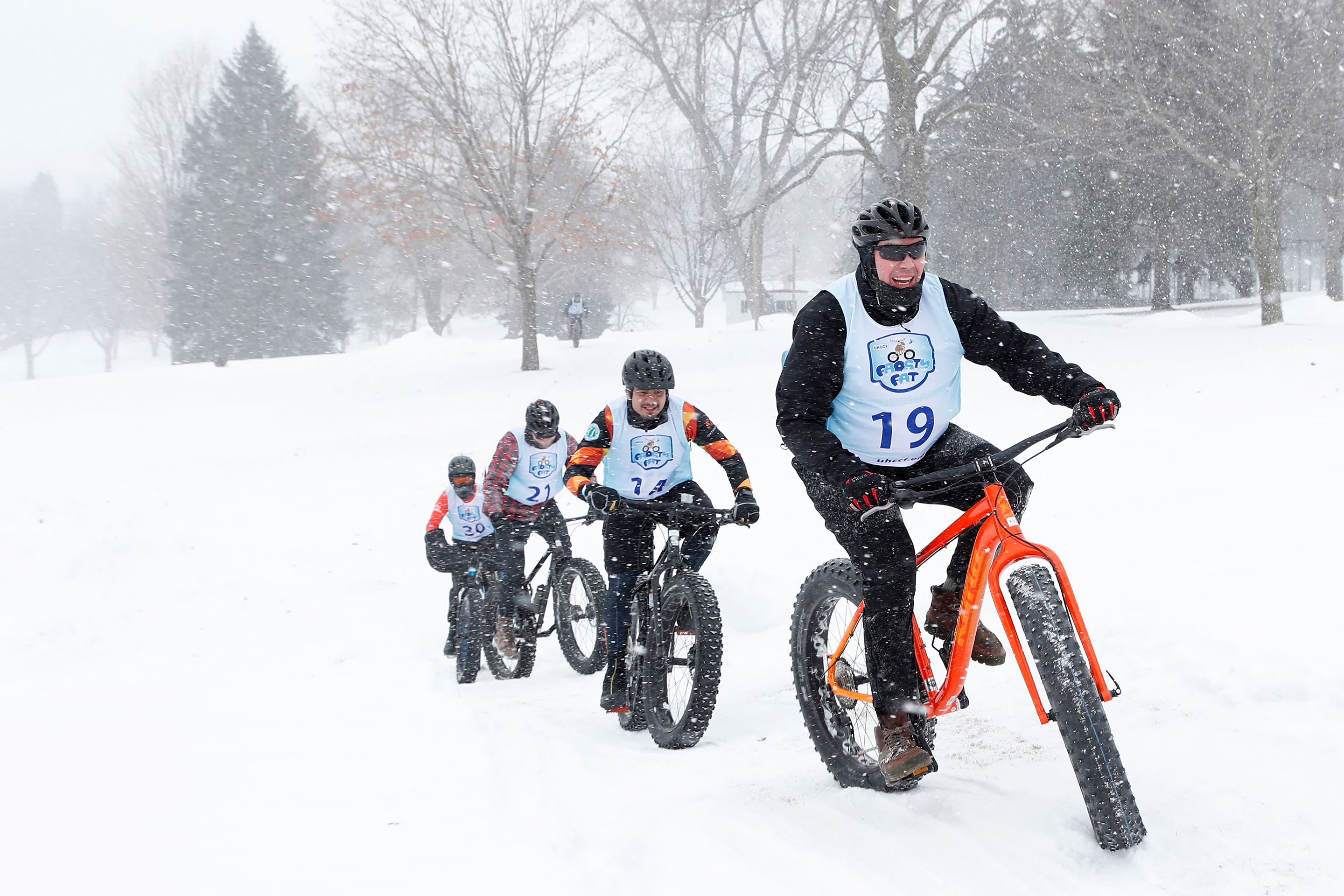Frosty Fat Tire Festival Benefiting the UnitedHealthcare Children's Foundation, Minnetonka Beach, USA - 03 Feb 2018