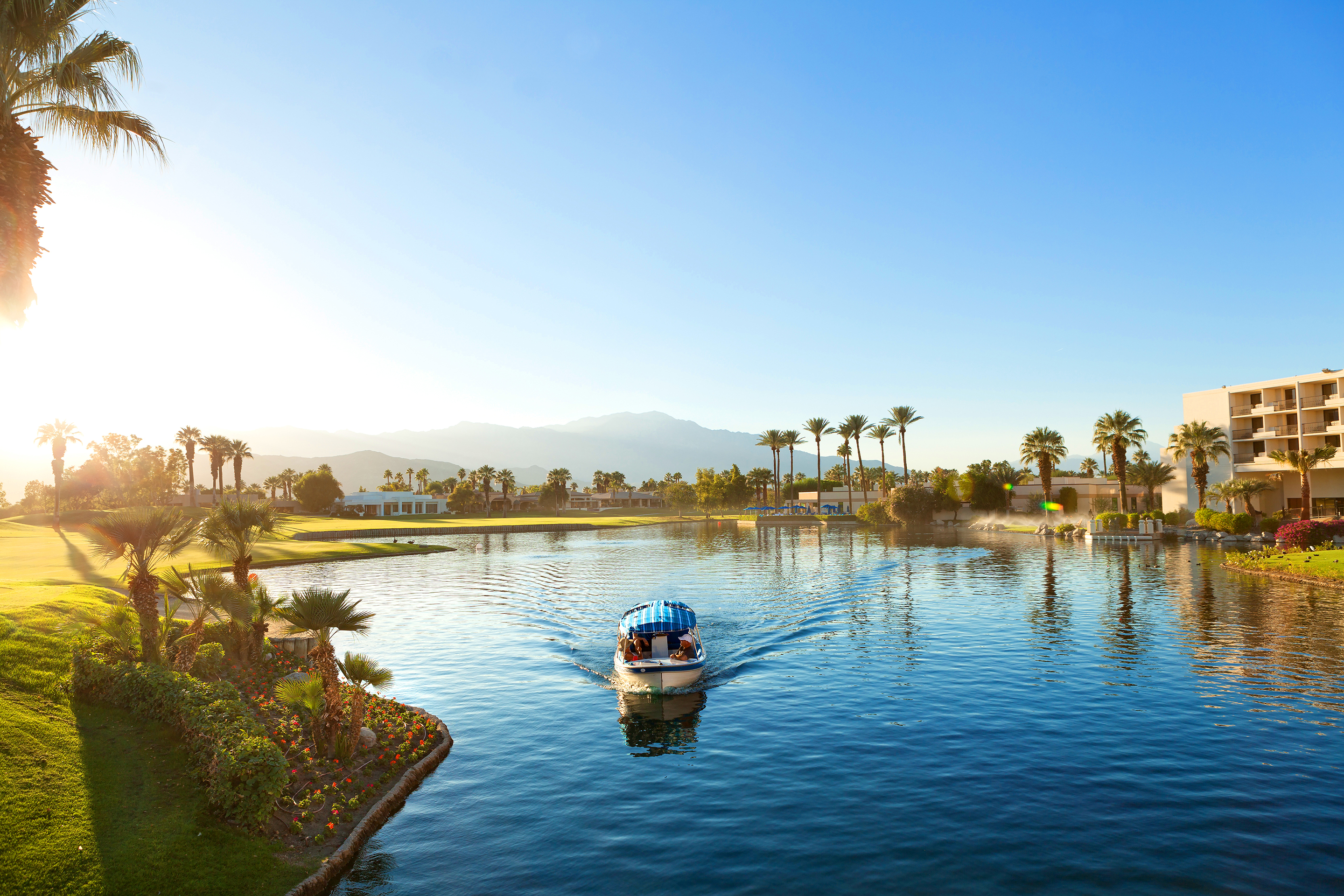 JW Marriott Desert Springs Resort and Spa in Palm Desert, California.