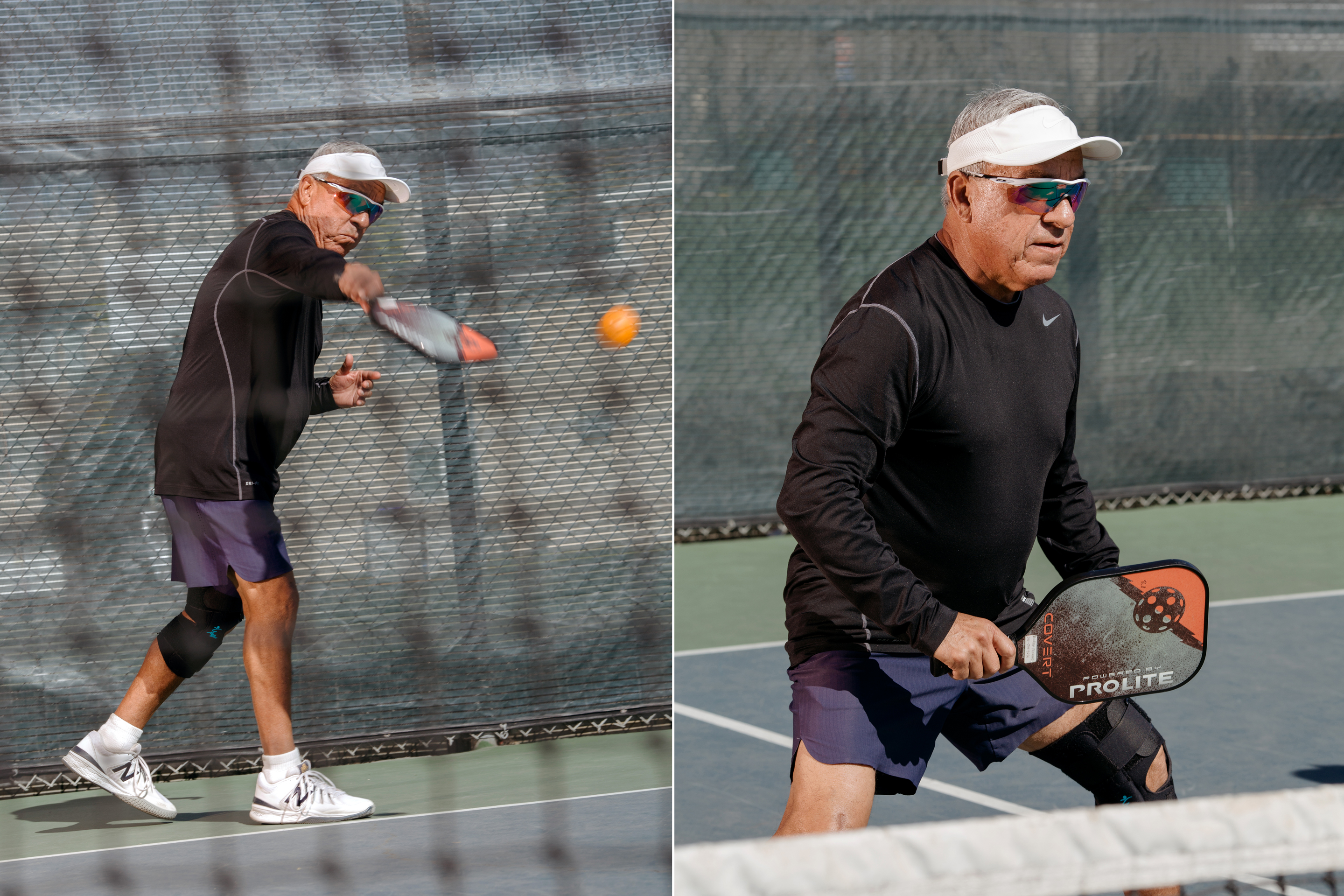 Bobby Travino of the Hermosa Beach pickleball scene.